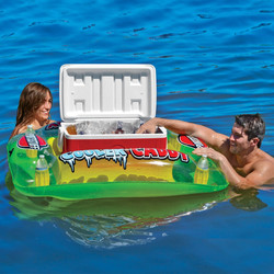 Floating Cooler Caddy