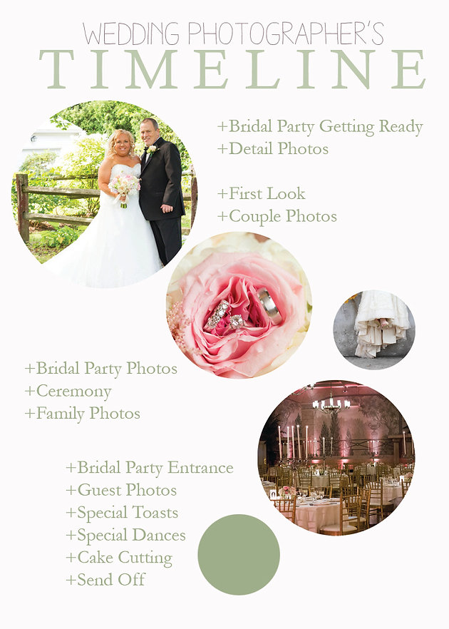 Wedding Photography Timeline Simplicity Photography Albany New