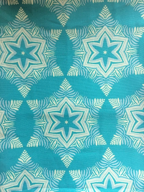 Mask - Turquoise/White Star