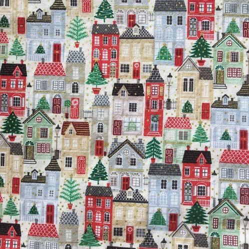 Mask - Christmas Village