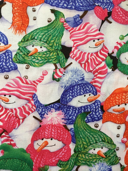 Mask - Christmas Snowmen