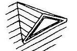 Triangular Eyebrow Dormer Window