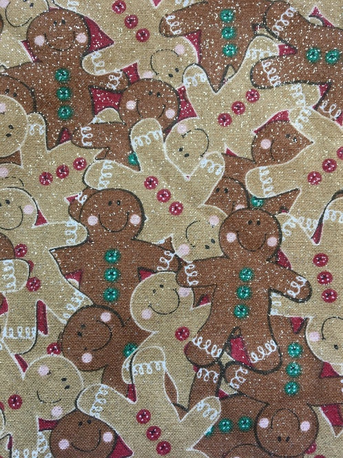 Mask - Gingerbread Men