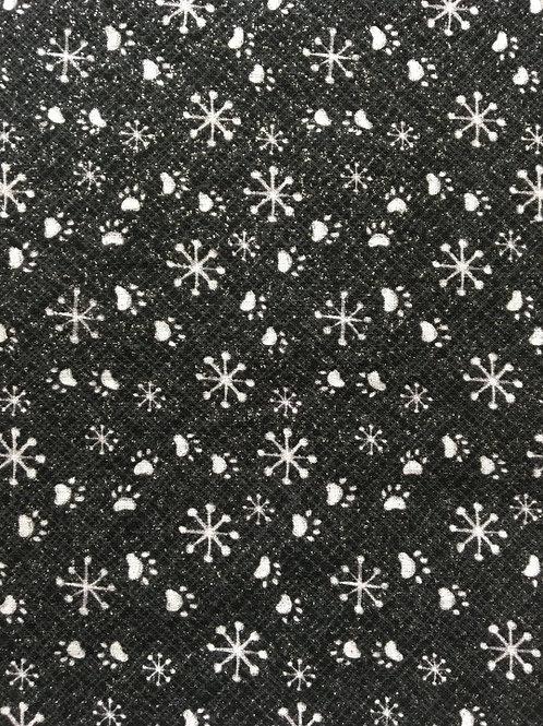 Mask - Snowflake Paw-Print