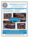Cal Young Gingerbread House e-Template