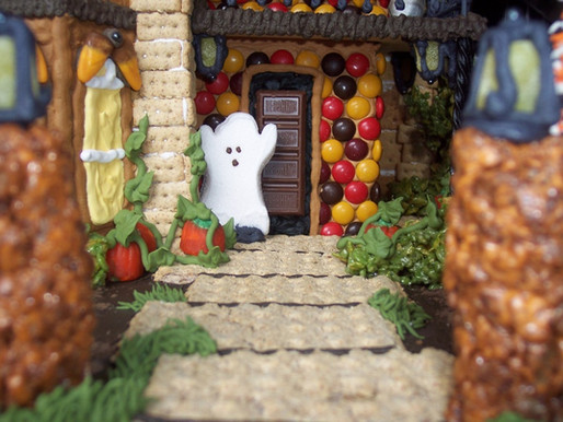 Heidi's Haunted Gingerbread House