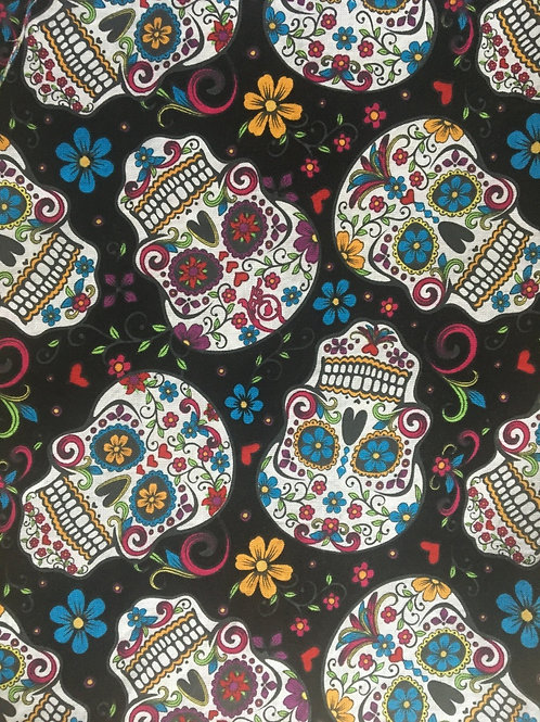 Mask - Day of the Dead - Black
