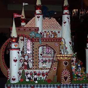 Seattle Shereton Gingerbread Display