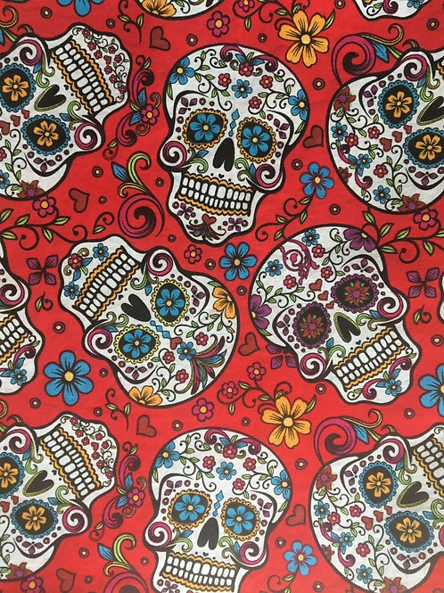 Mask - Day of the Dead - Red