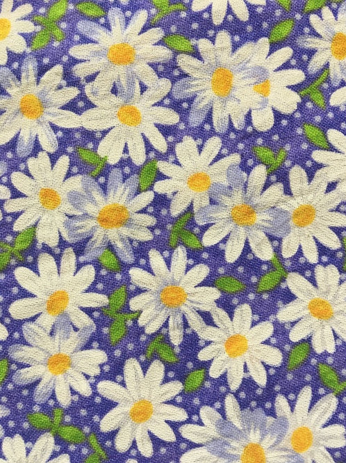 Mask - Royal-Purple Daisy