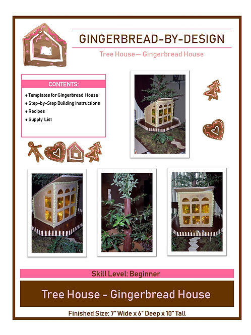 Tree House - pre-printed template