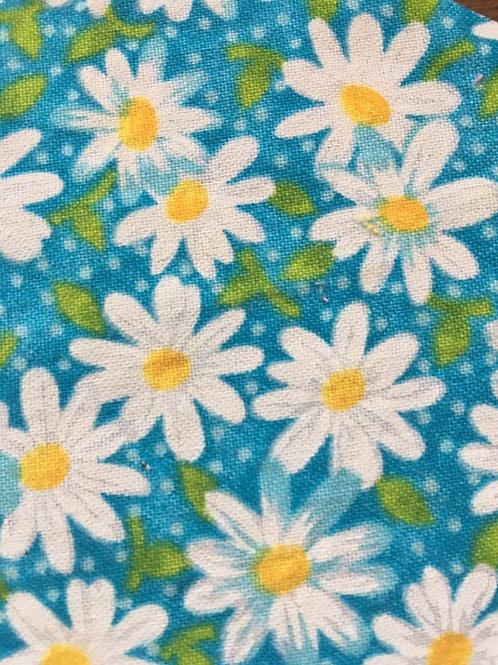 Mask - Turquoise Daisy