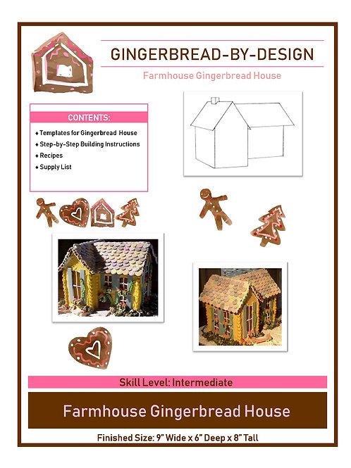 Farmhouse - pre-printed template