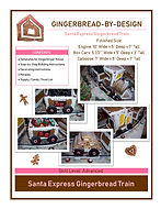 Santa Express Gingerbread Train