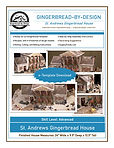 St Andrews Gingerbread House e-Template