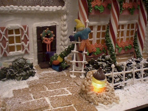 St. Andrews Gingerbread House