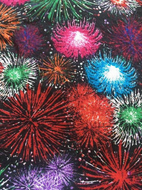Mask - Fireworks - Black
