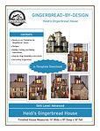 Heidi's Gingerbread House e-Template