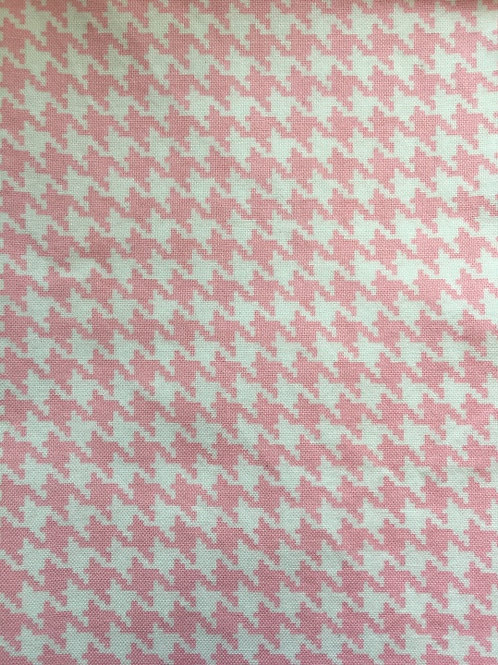 Mask - Pink Houndstooth