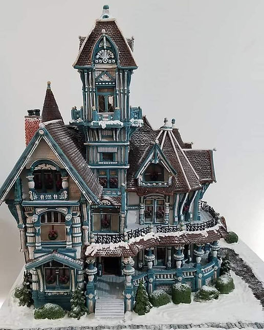 2020 GBD Gingerbread-Smackdown - Overall People's Choice Award - Victorian Christmas by Susan Rogers