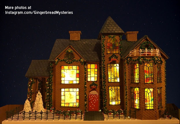 2020 GBD Gingerbread-Smackdown - People's Choice - Favorite Gingerbread Mansion Award - Rose Hall by Rob Kent de Grey
