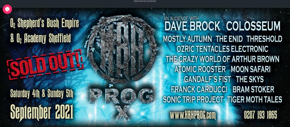 Bram Stoker at HRH X Festival ... Finally !!!