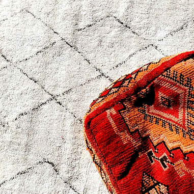assorted creambeni rugs