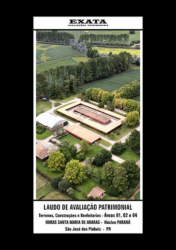 Capa Laudo Áreas 1, 2 e 4 HARAS Curitiba