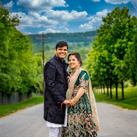 Tina & Divyansh Wedding