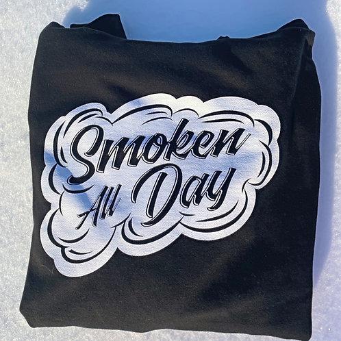 Smoken All Day Crew Neck