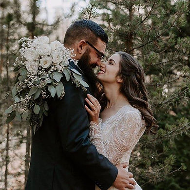 Mountain wedding. Vail wedding. Denver wedding. Custom Wedding Dress. Custom engagement ring.