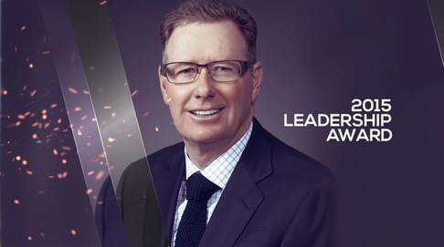 Gordon Ritchie   IVEY Calgary Alumni Leadership Award 2015