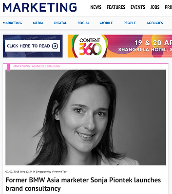 Sonja Pionte Marketing Magazine