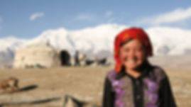 Kirgis girl - Lake Tashkurgan - Karakorum
