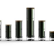 Bottle packaging lineup rendering