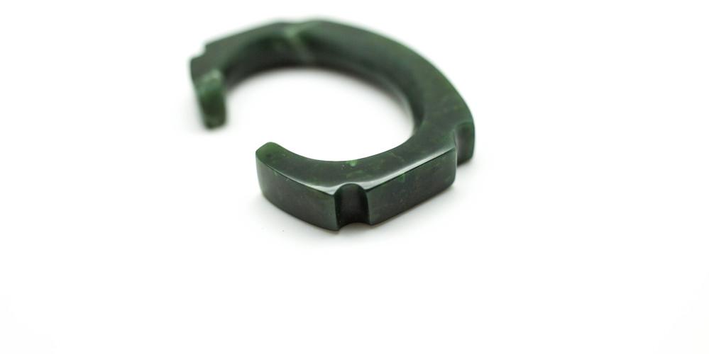 Yukon Jade Cuff Bracelet