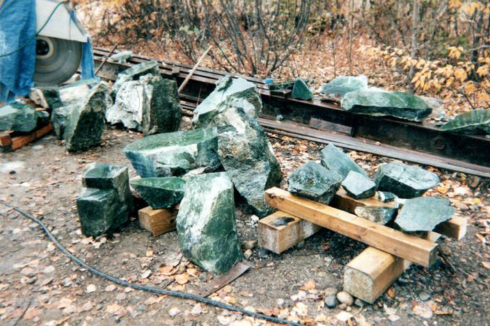 Jade pile