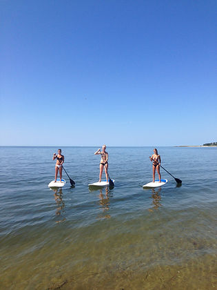 Stand-up paddleboarding in Chatham, MA