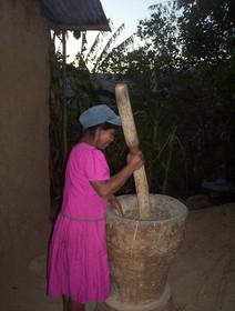 Hulling Rice