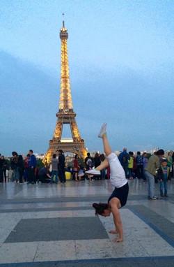 Handstands in Paris