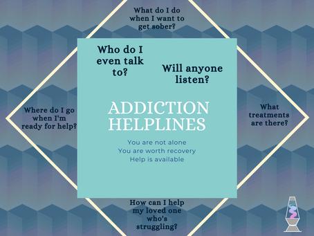 Addiction Helpline Information