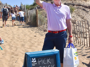 Pick Up A Brick at National Trust Formby