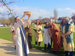 The Walk of Witness  The Formby Passion - Good Friday