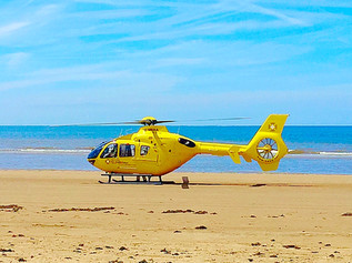 Air ambulance called to Formby Beach for the third time this week