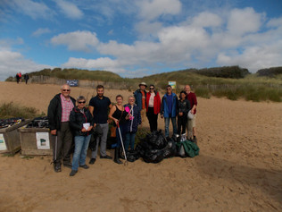 156kg of waste collected in 90 minutes on this morning's beach clean
