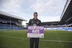 Merseyside Police join forces with Everton Football Club to take stance against hate crime