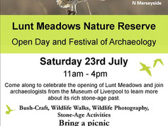 Celebrate the opening of Lunt Meadows Nature Reserve