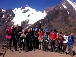 Range High Students findthe lost city Machu Picchu!