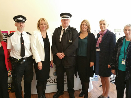 Pop-Up Cop Shop in Southport