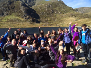 Formby High School Year 9 Geographers soak up the sun in Snowdonia today